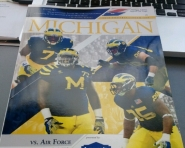 Air Force vs. Michigan Game Program (Chris Zadorozny / MJ)