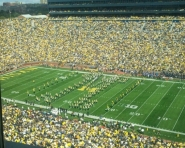 The University of Michigan Marching Band (Chris Zadorozny / MJ)