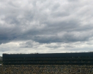 Clouds build over Michigan Stadium (Chris Zadorozny / MJ)