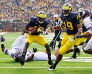 Michigan vs. Northwestern (Tommy Alexander / MJ)
