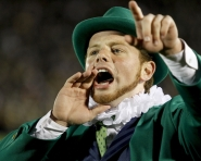 Leprechaun at Michigan vs. Notre Dame game (Tommy Alexander / MJ)