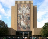 Notre Dame library (Chris Zadorozny / MJ)