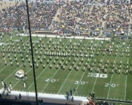 Purdue Marching Band at halftime (Chris Zadorozny / MJ)