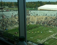 A pretty empty stadium here at Purdue (Chris Zadorozny / MJ)