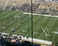 Purdue warming up (Chris Zadorozny / MJ)