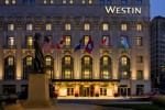 The Main Entrance of the Westin Book Cadillac on Washington Blvd.