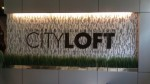 Somerset CityLoft&#039;s sign when you enter the building
