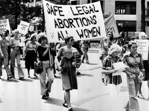 Roe v. Wade was a monumental Supreme Court case that changed family planning for women everywhere. (Credit: www.ellabakercenter.org)