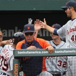 Detroit Tigers playing against the Baltimore Orioles on August 14, 2011 (Photo courtesy of Keith Allison under CC license)