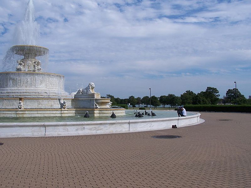 Belle Isle Fountain (Photo courtesy of Joseph Novak on Flickr)