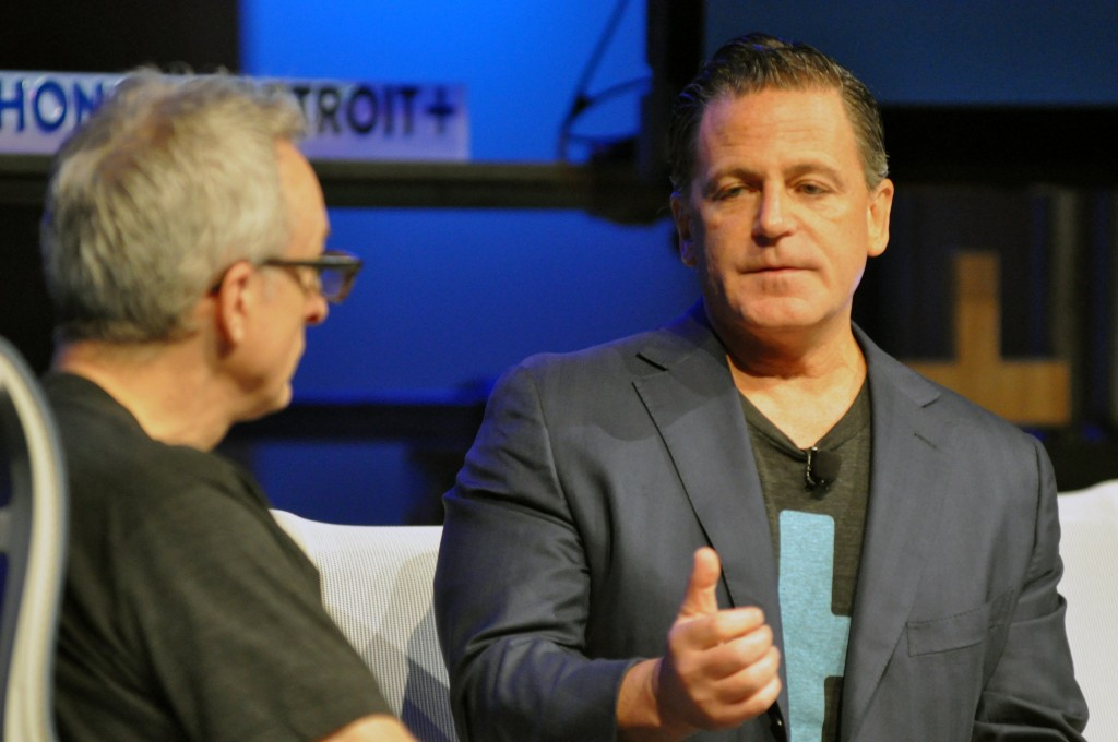 Dan Gilbert, Chairman and Founder of Quicken Loans speaks at a local conference. (Photo Credit: Mlive.com)