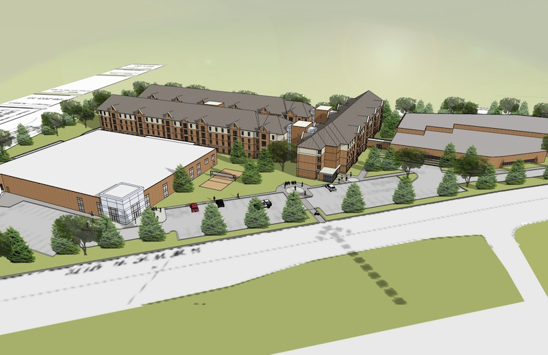 """The housing will be called """"The Union"""" and will include apartments for more than 500 students. (Photo Credit: University of Michigan-Dearborn)"""