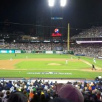 A view of Detroit Tigers game during Game 3 of the ALCS. (Credit: Chris Zadorozny / MJ)