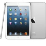 iPad mini comes in both black and white, a dual-core A5 processor, FaceTime HD, 5MB iSight camera, updated wireless and LTE and has the new Lightning connector for charging and syncing. (Credit: Apple Inc.)