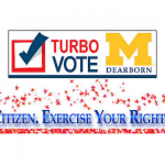 (Screen capture of TurboVote on UM-Dearborn's website)