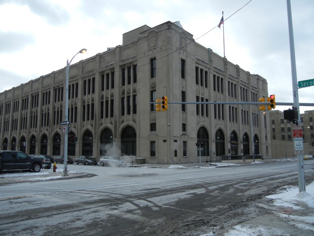 The Detroit News building   Photo courtesy of: Wikipedia