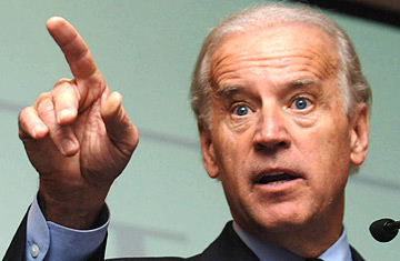 Biden said in a press conference on Thursday that the consensus favors banning assault weapons and creating a system of stronger background checks in buying guns. Photo Courtesy of: Floyd Brown / Creative Commons