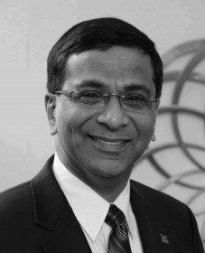 Dean of the College of Business Raju Balakrishnan