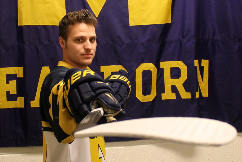 After becoming an offensive juggernaut, Jase Paciocco is ready to lead the Wolverines as captain. (Brianna Frisch/MJ).