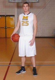 Jeff Fick during his first few seasons at UM-Dearborn. (Photo courtesy of Jeff Fick)