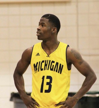Darryl Mobley Jr. Photo courtesy of UM-Dearborn men's basketball.