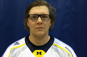 Andrew Popp won the first Super Smash Bros. tournament held by the lacrosse team. (Courtesy UM-Dearborn lacrosse)