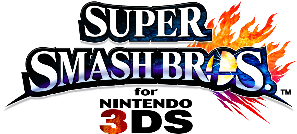 Super Smash Bros. for Nintendo 3DS logo. (Courtesy of Wikipedia).