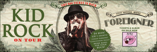 Photo courtesy of kidrock.com