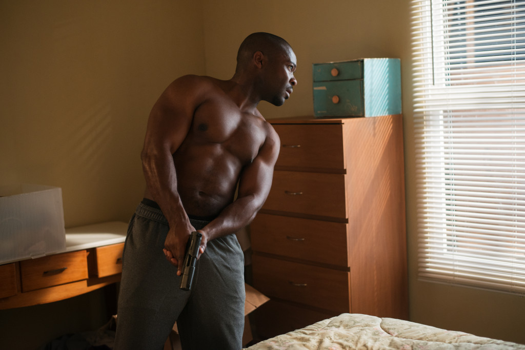 David Oyelowo plays Brian Nichols in Captive from Paramount Pictures. (Photo courtesy of Paramount Pictures)