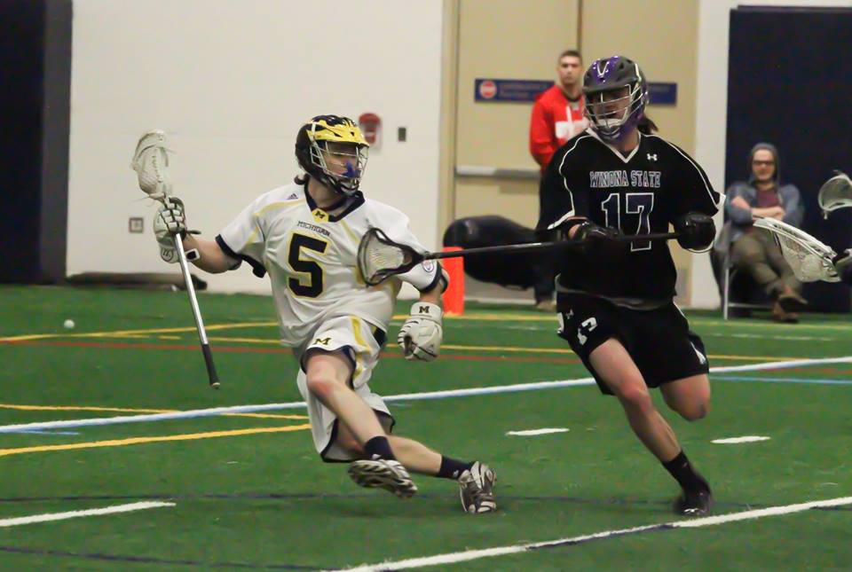 Mitch Stapleton. (Photo courtesy of UM-Dearborn lacrosse)