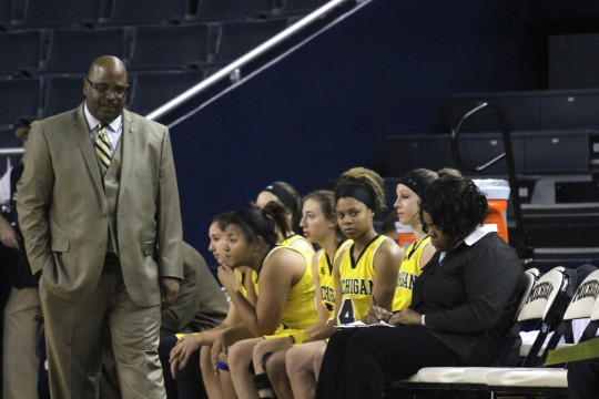 Dymetrius Ware hasn't coached the UM-Dearborn women's basketball team since Jan. 9, 2016. (Ricky Lindsay/MJ)