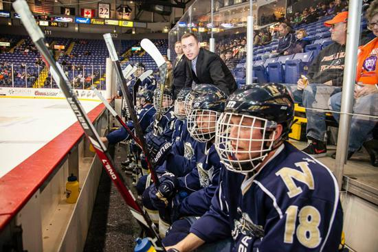 Photo Courtesy of USNA Hockey