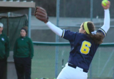Softball Tested in Weekend Conference Action