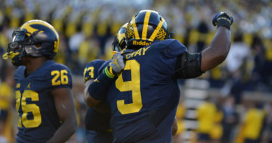 PHOTOS: Wolverines Keeps Train Rolling Against Penn State