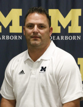 Vincent Alessandrini (Photo courtesy of UM-Dearborn Athletics Department)