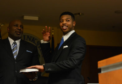 PHOTOS: Jones Takes Oath