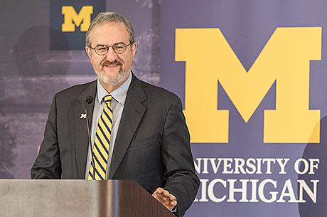 Photo courtesy of University of Michigan Record