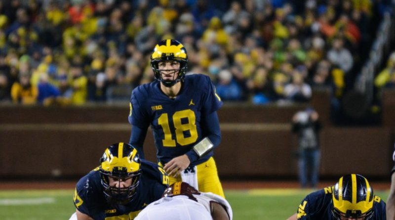 Wolverines lose to unbeaten Badgers