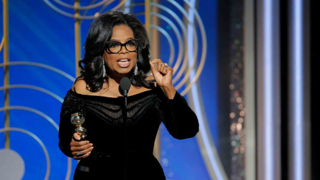 Oprah in Alabama, visits gravesite of assault victim